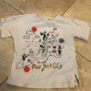 New York City toddler shirt